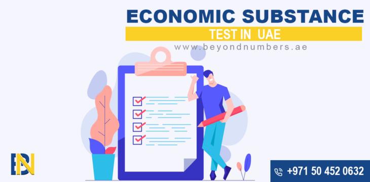 Economic Substance Test in UAE
