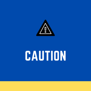 Caution while using Wave