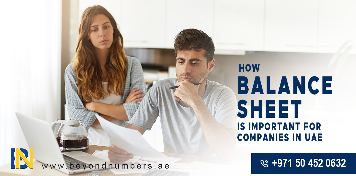 How Balance Sheet is Important for Companies in UAE - Beyond Numbers